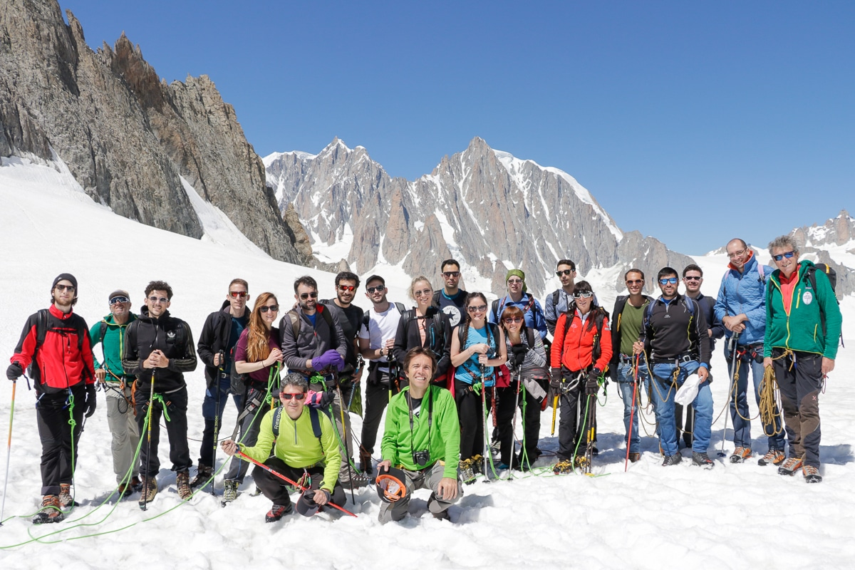 Team Acus in montagna