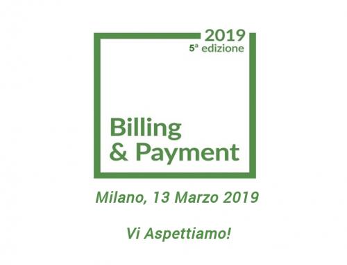 Acus sarà presente al Billing & Payment 2019!