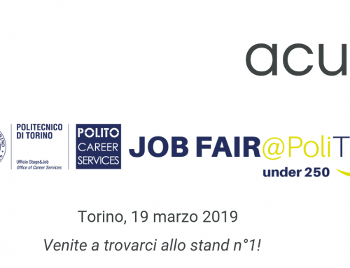 Acus al Job Fair @ PoliTO