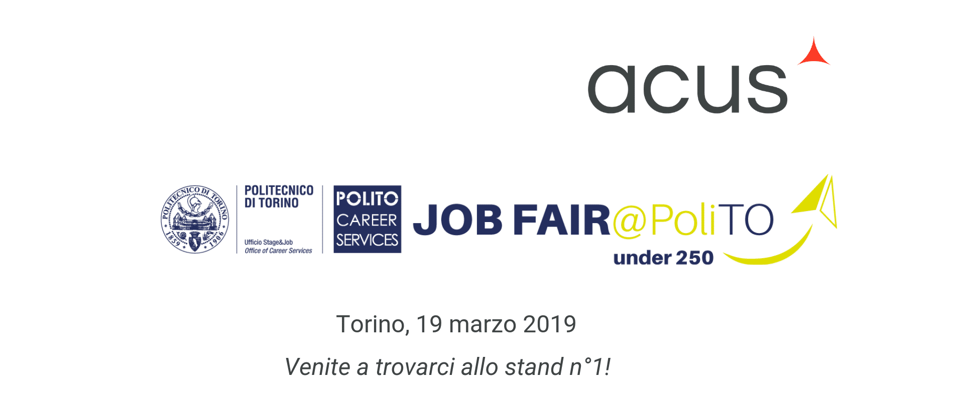 Acus al Job Fair PoliTO