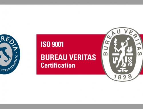 Acus ha ottenuto la certificazione ISO 9001:2015
