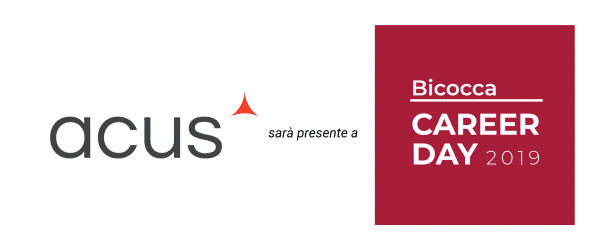 Acus al Career Day Milano-Biccocca 2019