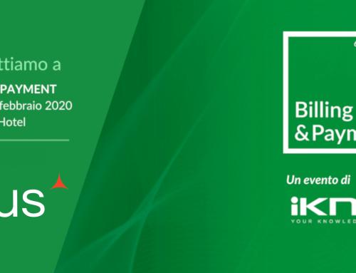 Saremo presenti al Billing & Payment 2020!